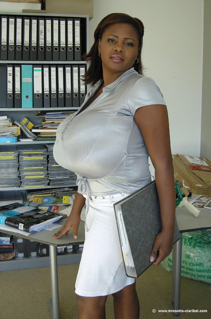 Giant black dick and real boobs | XXX images)