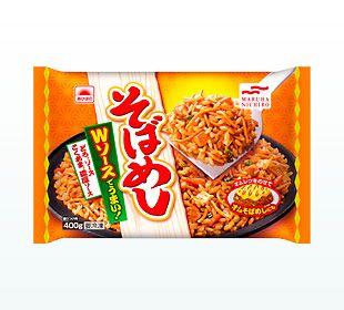 ソース味のごはんと焼そばを合わせた、神戸で人気のそばめしです。ピリ辛のどろ®ソースとこくあま®濃厚ソースを使ったやみつきになる味わいです。