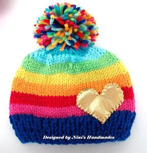 Boys hat with Soccer baby Beanie childrens by NinisHandmades
