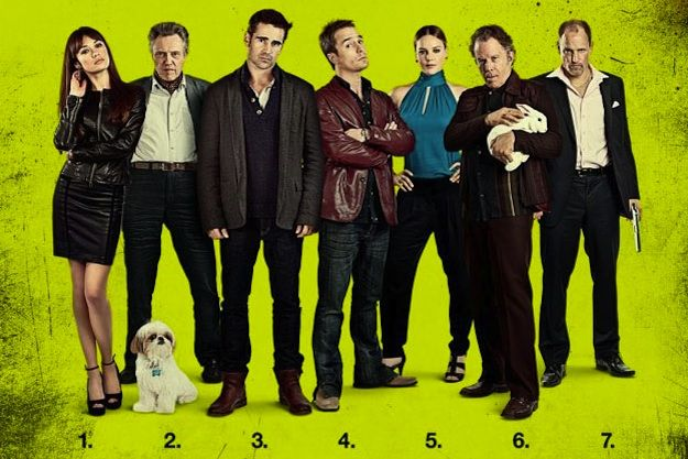 Image from renegadechicks.com. Seven Psychopaths. An ideal one sheet image.