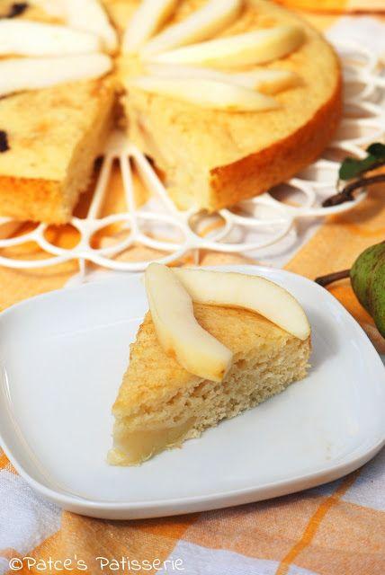 Birnen-Buttermilchkuchen ohne Butter {Die schnelle Alternative zum Hefekuchen}