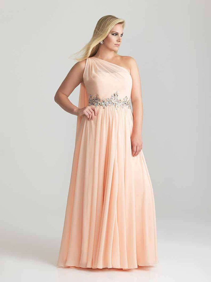 Night Moves 6786W Plus Size Prom