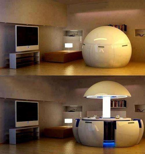 El futuro se acerca a nosotros, y esta mesa podría ser parte de nuestros hogares en un futuro. ¿Qué crees? ;)