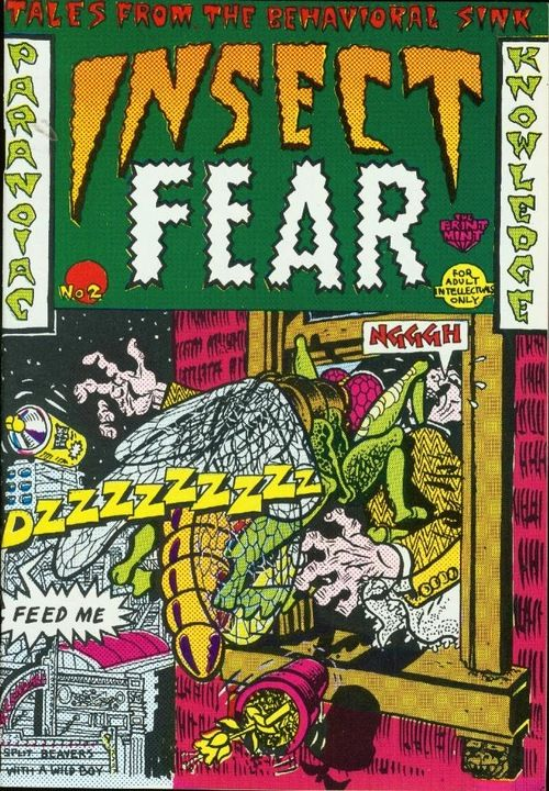 underground comic art | Insect Fear, underground comic, 1970sCover art: Spain Rodriguez