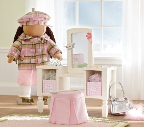 Perfect Pottery Barn Kids Doll Vanity