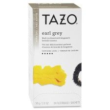 Starbucks Corporation  Tazo Earl Grey Black Tea  Black Tea - Earl Grey - 24 Filterbag - 24 / Box  SBK149899 | FSIoffice