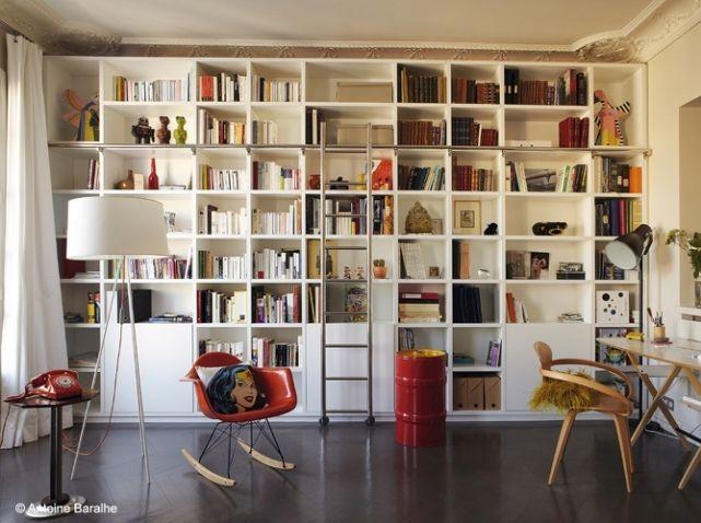 Les 25 meilleures id es de la cat gorie biblioth ques sur pinterest tag re - Ikea bibliotheque murale ...