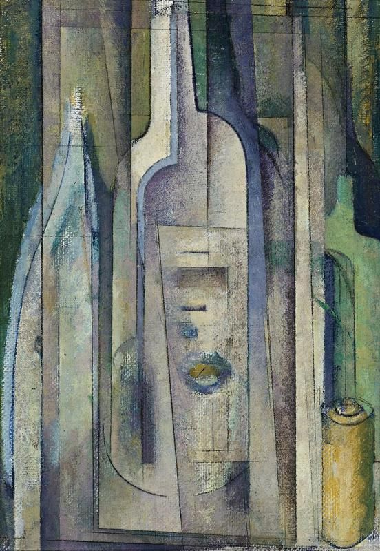 Godfrey Miller (1893-1964) - Bottles, 1938-41