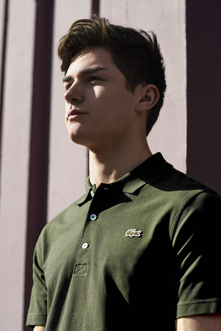 Dylan Populaire for Urban Workout. #LacosteUrbanite