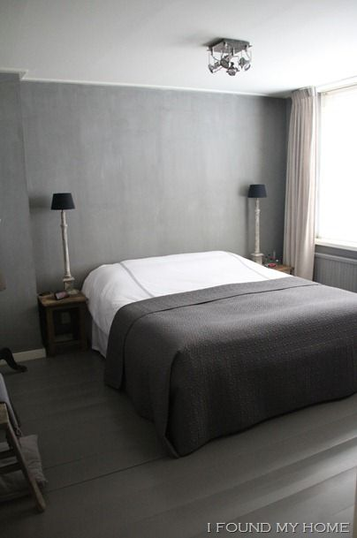Pin by huisno26 wonen landelijke stijl on home bedroom slaapkamer inrichting styling for Grijze muur