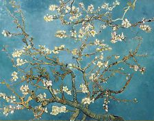 Vincent Van Gogh Branches with Almond Blossom Fine Art Reproduction A3 Print