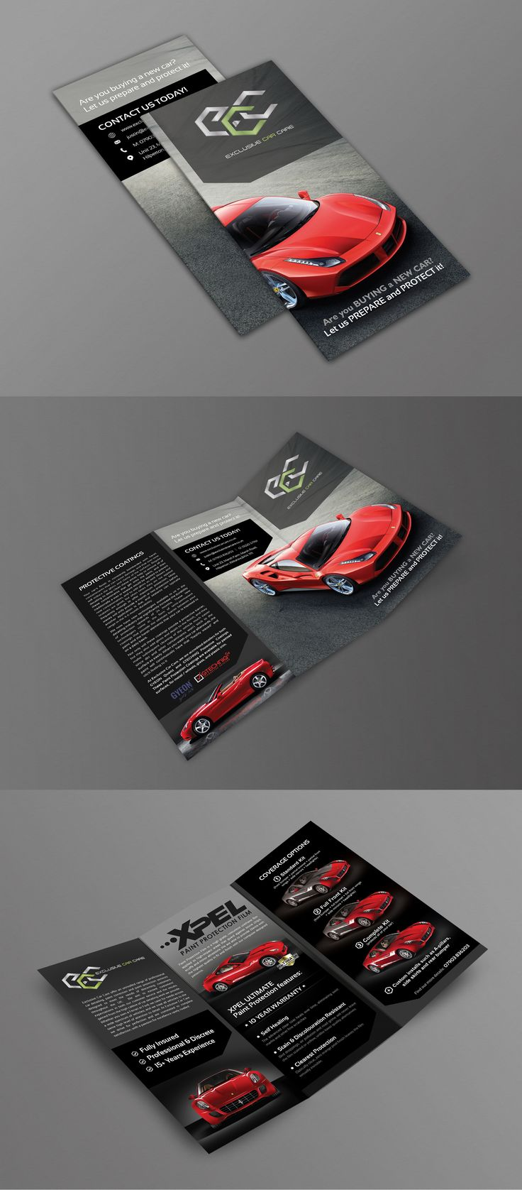 Exclusive Car Care | Brochure Design