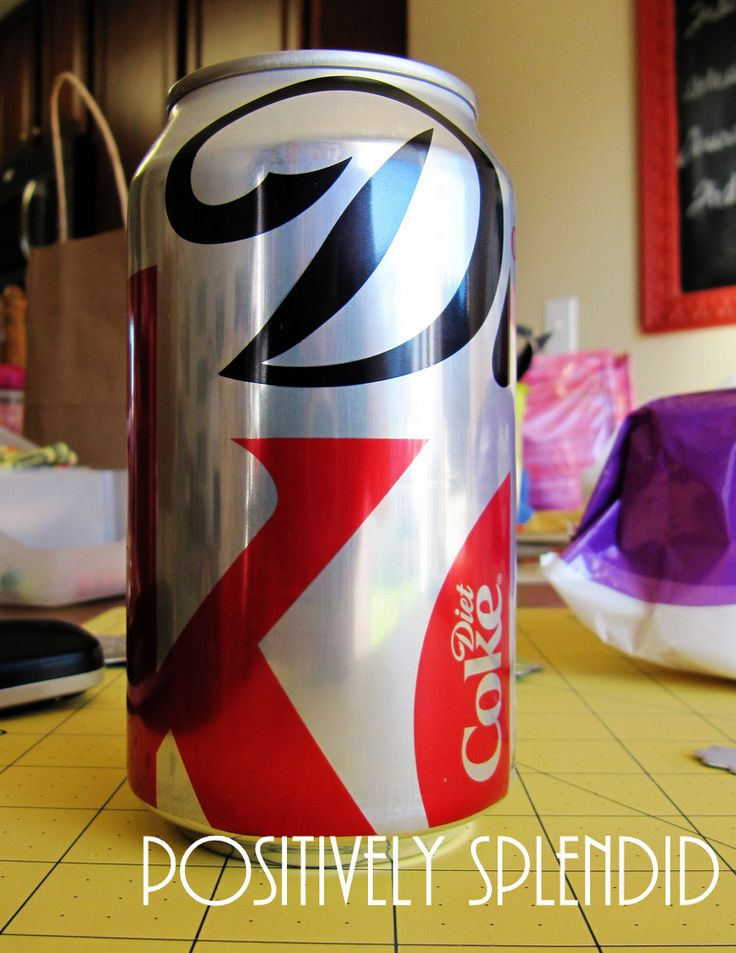 Stamped Metal Tags from Coke Cans! | Positively Splendid {Crafts, Sewing, Recipes and Home Decor}