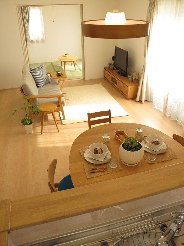 ナラ・オーク無垢材を使用した家具でナチュラルコーディネート事例をご紹介!広さに合わせた家具選び の画像|家具なび ~きっと家具から始まる家づくり~
