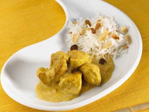 Recette curry de dinde au lait de coco