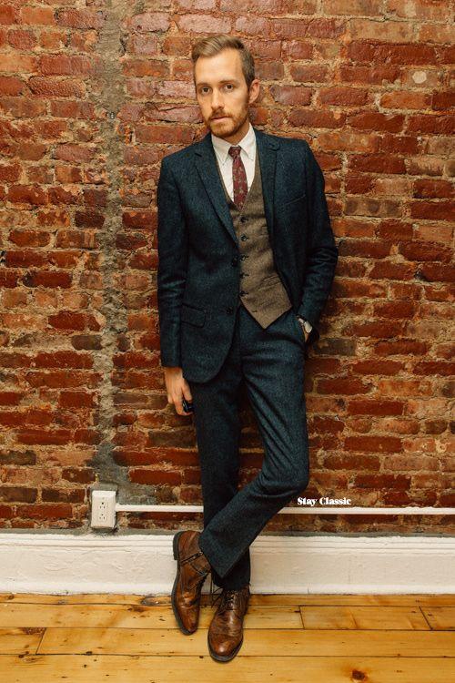 January 10, 2015. Wedding. Blazer: Slim Donegal Slim Tweed - Edge WD.NY - JackThreads - $95 Vest: Ludlow Herringbone Wool - J. Crew - $73.50 (similar) Shirt: Oxford - Uniqlo - $30 (similar) Boots:...