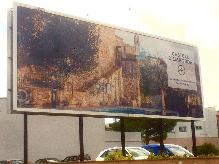 #castelldemporda #billboard #spain