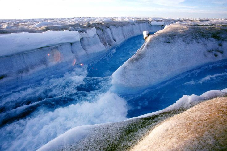 Ice Canyon. Greenland | Feel The Planet