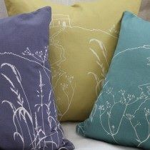 Contemporary textile design and workshops by Helen Round in her garden studio in Cornwall.