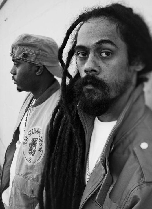 Nas & Damian Marley *posted by Hip Hop Fusion