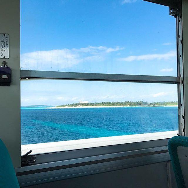 【daytrippers_photography】さんのInstagramをピンしています。 《本日の楽園行きバスの車窓から。今日はほんと久しぶりに爽やかで気持ちいい天気!サイコーですでも仕事 . .  #楽園バス #ローカル線 #バス #宮古島 #沖縄 #島の時間 #島暮らし #lifestyle #islandtime #miyakojima #okinawa  #japan  #icu_japan #icu_nature #Lovers_Nippon  #ig_japan #team_jp_ #team_jp_西  #写真好きな人と繋がりたい #写真撮ってる人と繋がりたい #写真部 #絶景 #風景 #景色 #一人旅 #南国 #楽園 #青空 #空 #海》