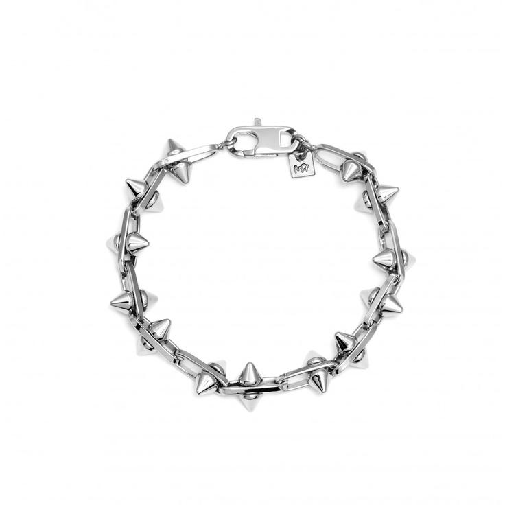 Mens Stud Chain Bracelet by MFP SS13 Pre-Order, Designer MFP SS13 Pre-Order Jewellery, Kabiri Jewellery Store Online