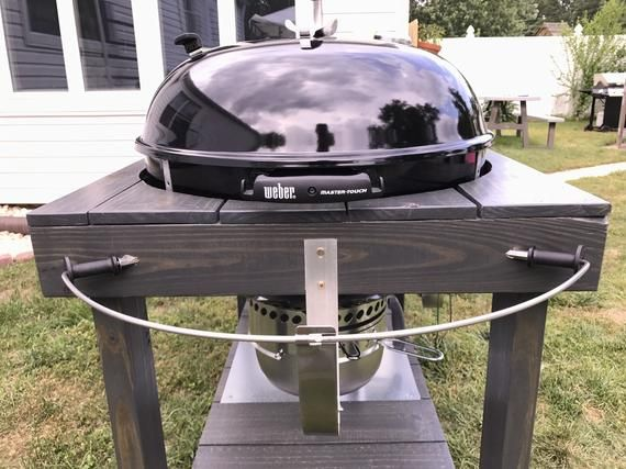 Local Pick Up Only Weber Grill Table Etsy Grill Table Weber