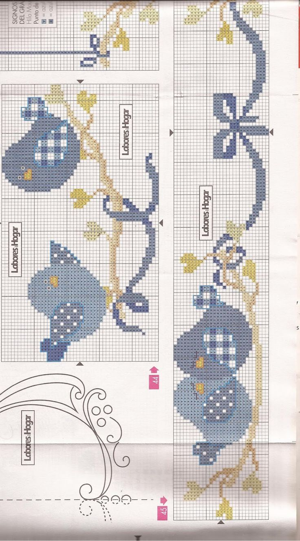1/2 ---pajaritos azules