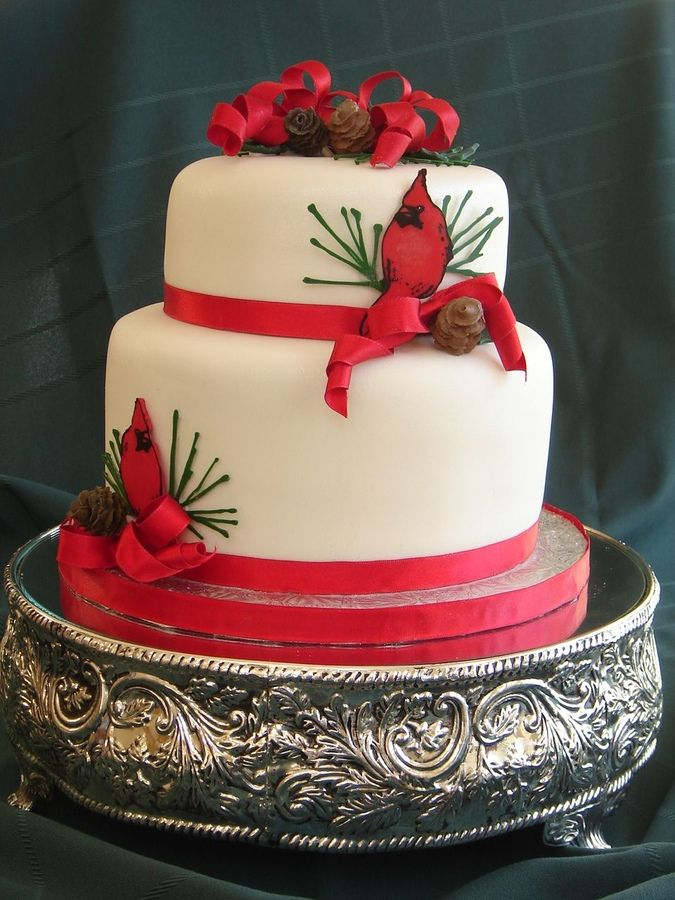 Cake Similar Artists : 65 best cardinal bird cakes images on Pinterest