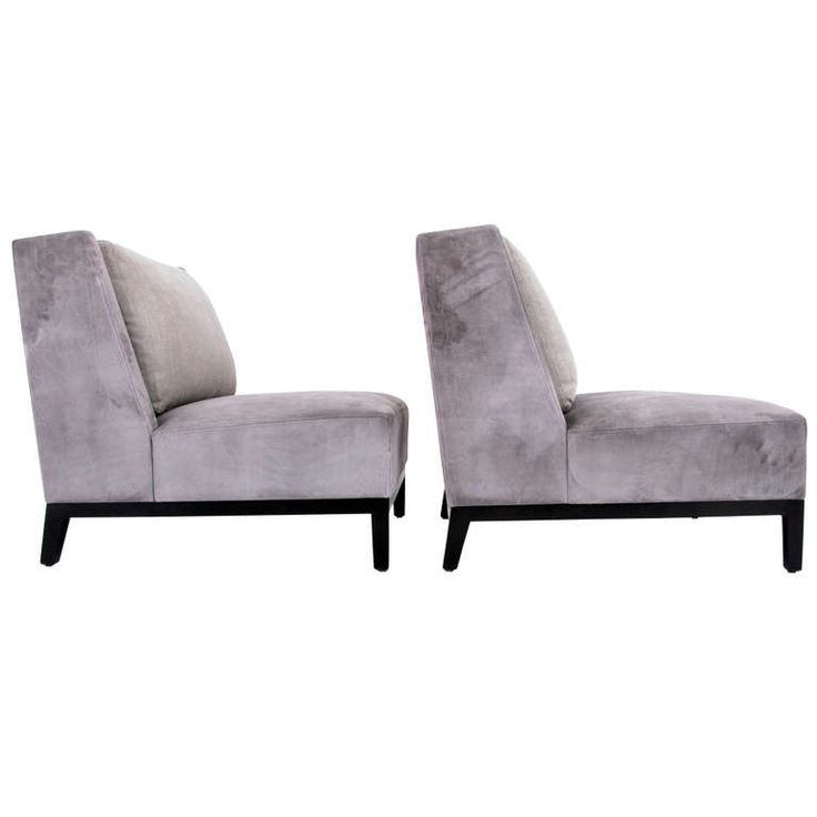 1stdibs | Pair Of Christian Liaigre Lounge Chairs (2 Pairs Available)