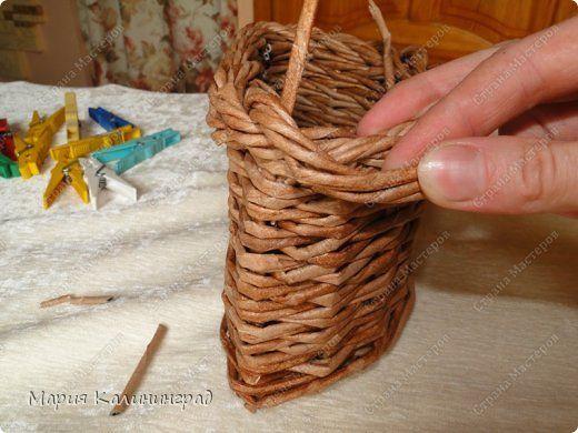 Мастер-класс Поделка изделие Плетение Итальянская загибка мк Кружево Трубочки бумажные фото 24
