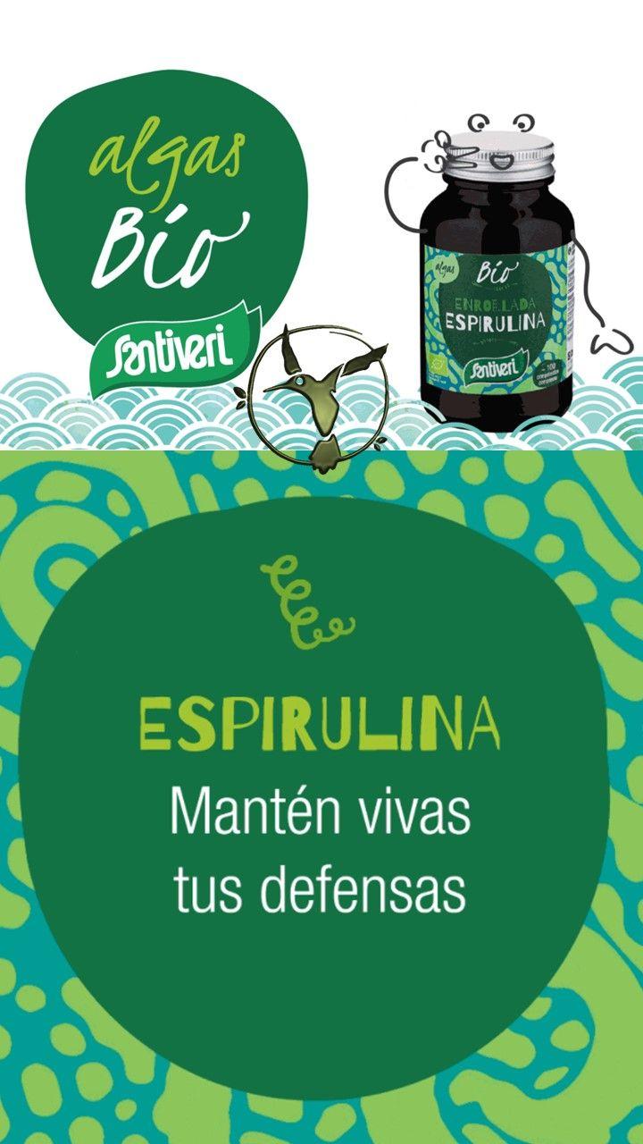 #espirulina #beneficios #santiveri #propiedades #alga #adelgazar #contraindicaciones #capsulas #dosis #hipotiroidismo #piel #peso #spirulina #usos