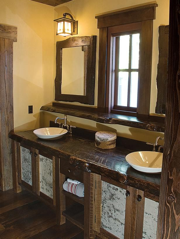Innovative When It Comes To DIY Home Decor, Rustic Bathroom Decor  Why Not Try Building A Rustic Vanity Cabinet It Can Easily Be The Focal Point Of Your Entire Bathroom Decor Alternatively Look For Someone To Handcraft One For You A Bath Caddy Is