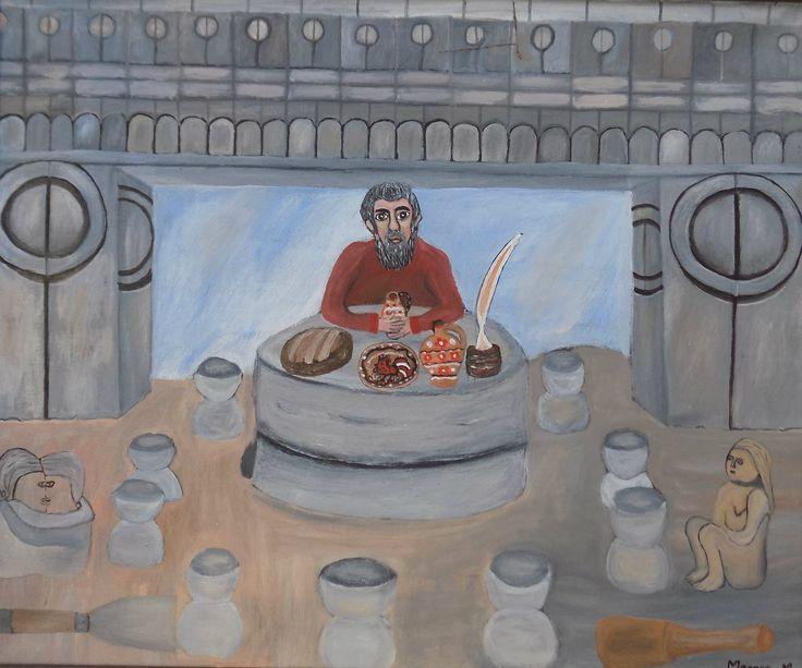 Pictura naiva | Visurile lui Brancusi | Boutiq Art