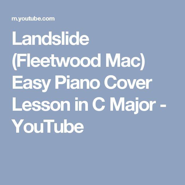 fleetwood mac landslide piano sheet music pdf