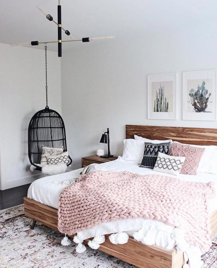 This Blush Throw Is The Best Simple Bedroom Decor Simple Bedroom Remodel Bedroom