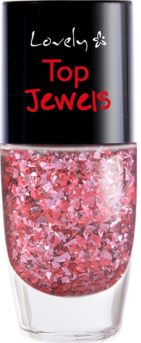 Lovely, lakier do paznokci Top Jewels nr 3