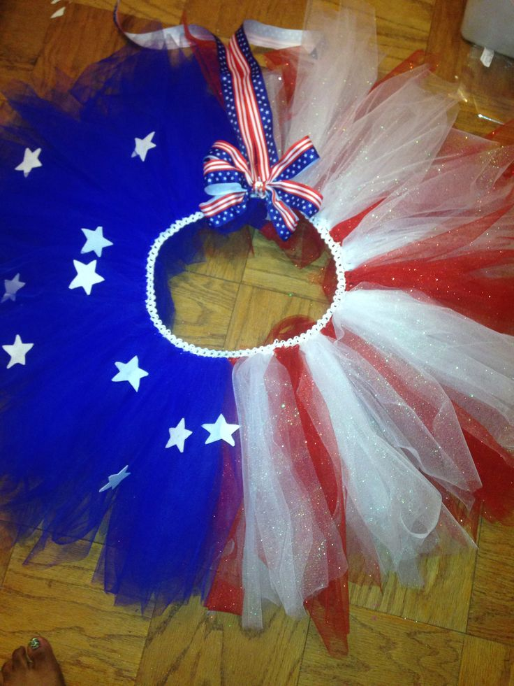 Anerican flag tutu $35 in childs 0m-4yrs!