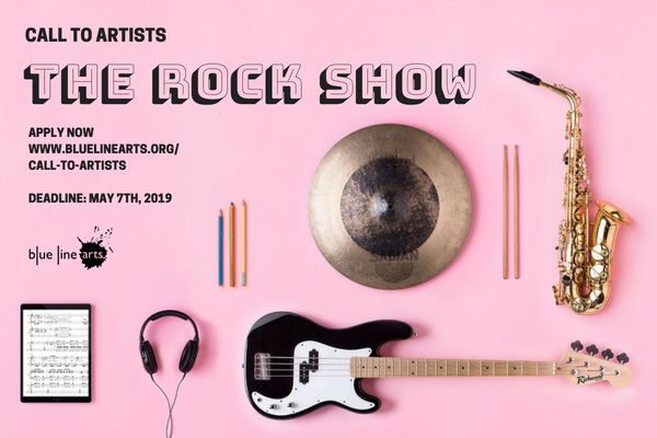 Call To Artists Create Artwork Inspired By Modern And Contemporary Music Show Us What Rock And Roll Looks Like Visually To You Th Artist Blog Artist Line Art