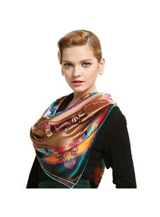 Silk scarves and more