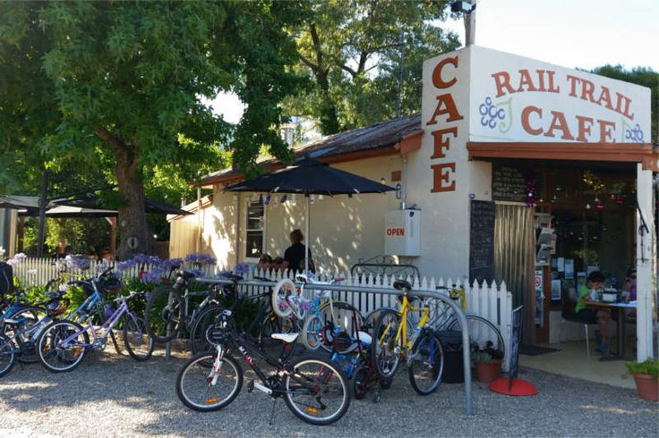 The Rail Trail Cafe - Family Friendly Cafe at the Heart of the Rail Trail