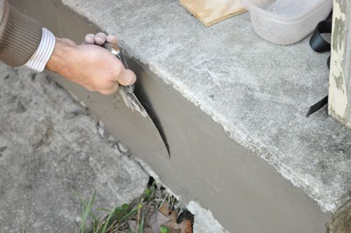 25 best ideas about painted concrete steps on pinterest - Resurfacing exterior concrete stairs ...