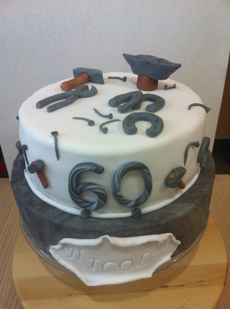 Blacksmith My Sweets Cake Cake Decorating Birthday Cake