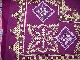 Image result for kutch work designs for sarees#