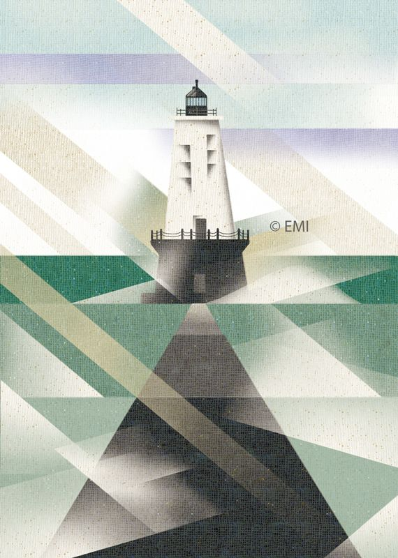 Light house | digital art | by EMI 2015