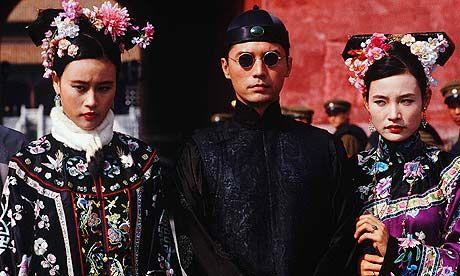 """A still from Bernardo Bertolucci's excellent film """" The Last Emperor""""."""