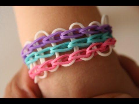 Modele bracelet elastique triple