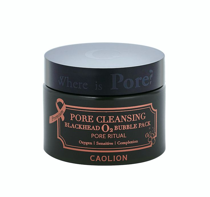 Caolion Blackhead O2 Bubble Pore Pack - 50g - Peach & Lily