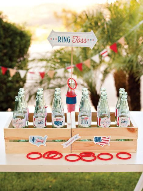 4th of July Entertainment | via www.loveyourdaydesignsblog.com | The Little Things: Patriotic Party Prep