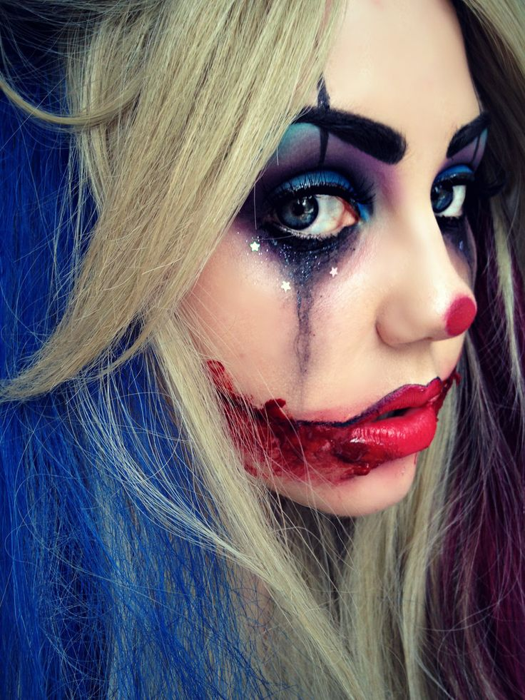1000 ideas about clown makeup on pinterest scary clown. Black Bedroom Furniture Sets. Home Design Ideas
